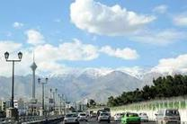 شاخص کیفت هوای پایتخت در شرایط سالم