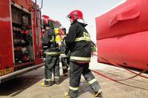 جزئیات آتش سوزی یک گاراژ در بزرگراه آزادگان