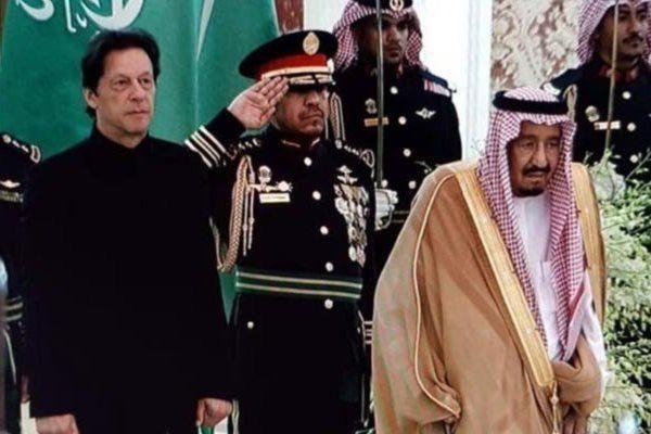 دیدار «عمران خان» با پادشاه عربستان در اولین سفر خارجی