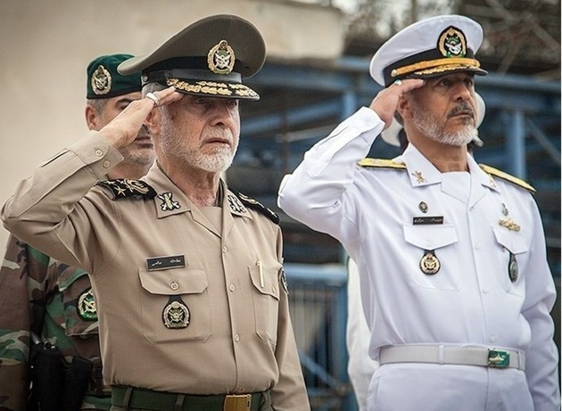سرلشکر صالحی از پایگاه دریایی پسابندر نداجا بازدید کرد