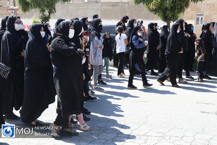 عزاداری ظهر تاسوعای حسینی در کرمانشاه