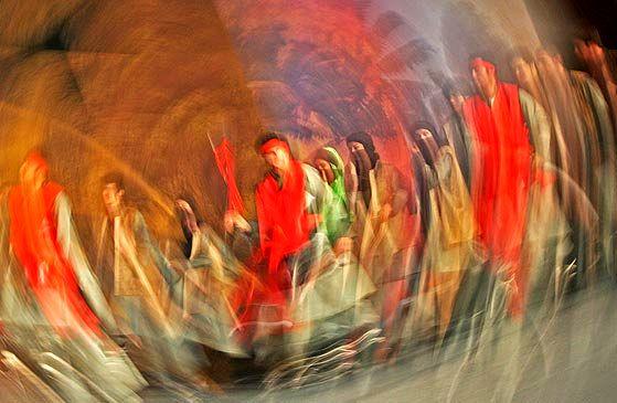 اجرای نمایشنامهخوانی در قاب ماه