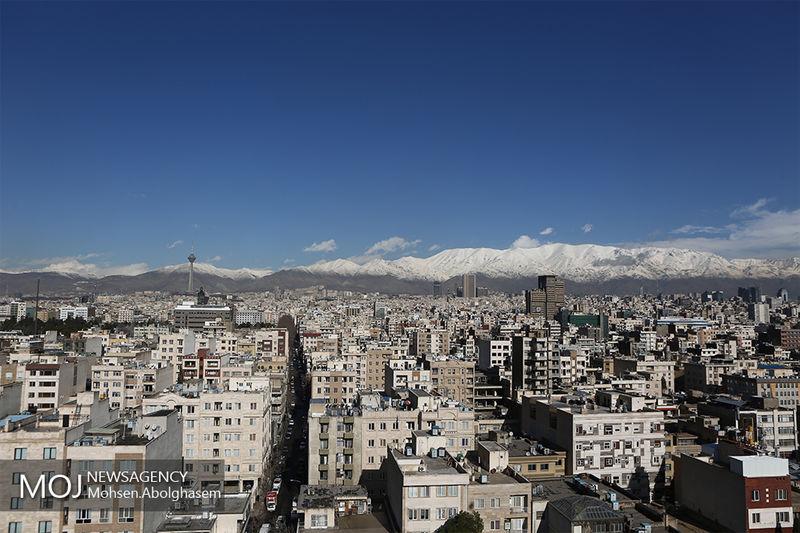 کیفیت هوای تهران در 6 اردیبهشت 98 پاک است