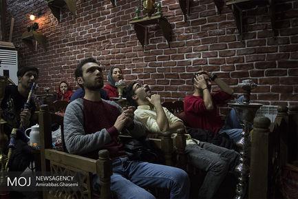 تماشای دیدار تیمهای فوتبال ایران و ژاپن (1)