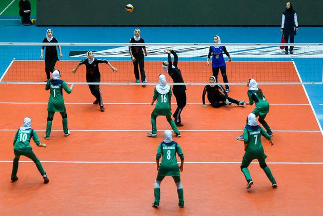 شکست والیبال بانوان ایران مقابل چین تایپه در نخستین روز قهرمانی آسیا