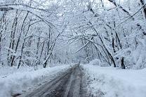 ارتفاع برف در مناطق غربی استان اصفهان به 50 سانتی متر رسید
