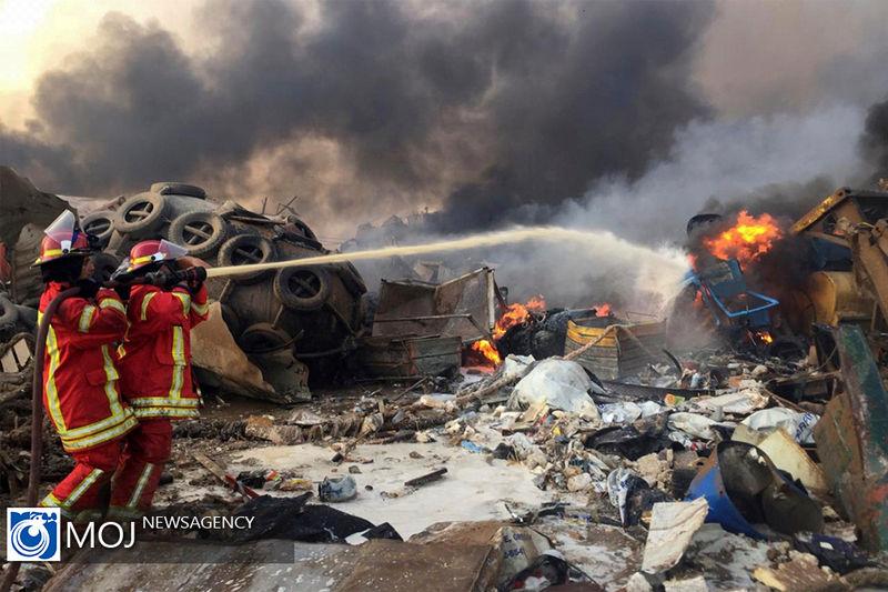 برآورد خسارات ناشی از انفجار خونین در بندر بیروت