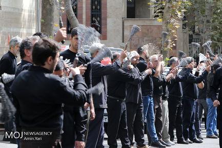 عزاداری ظهر عاشورای حسینی در محله قلهک