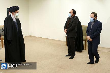 دیدار خانواده شهید فخریزاده با مقام معظم رهبری