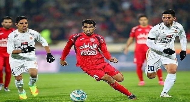 تساوی پرسپولیس و الجزیره در نیمه اول بازی