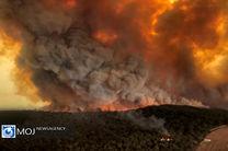 آتش سوزی در منطقه حفاظت شده خائیز/ خبری از بالگرد نیست