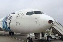 تصادف خودرو با هواپیما در اهواز