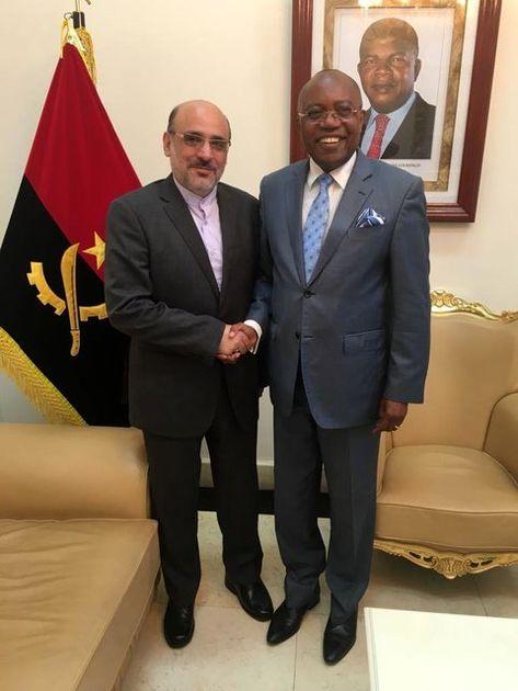 سفیر آکردیته ایران با وزیر خارجه آنگولا دیدار کرد