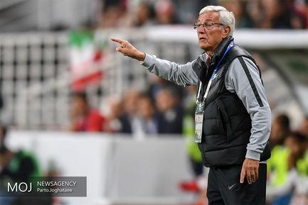 دیدار تیمهای ملی فوتبال ایران و چین/مارچلو لیپی