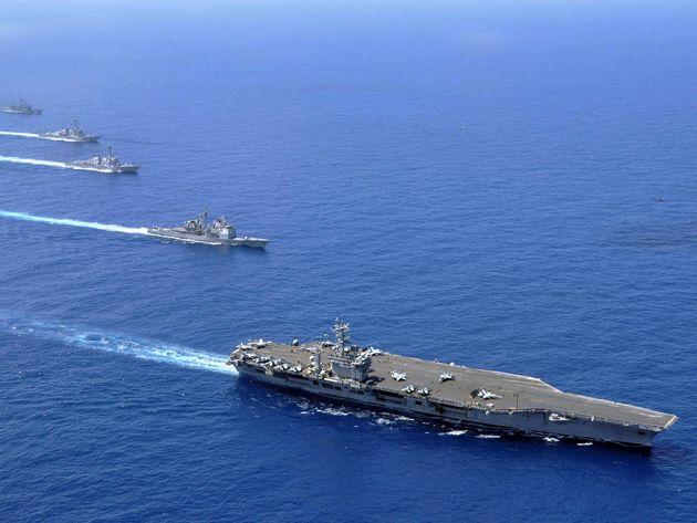 پیمان نظامی سهگانه برای مبارزه با دزدی دریایی