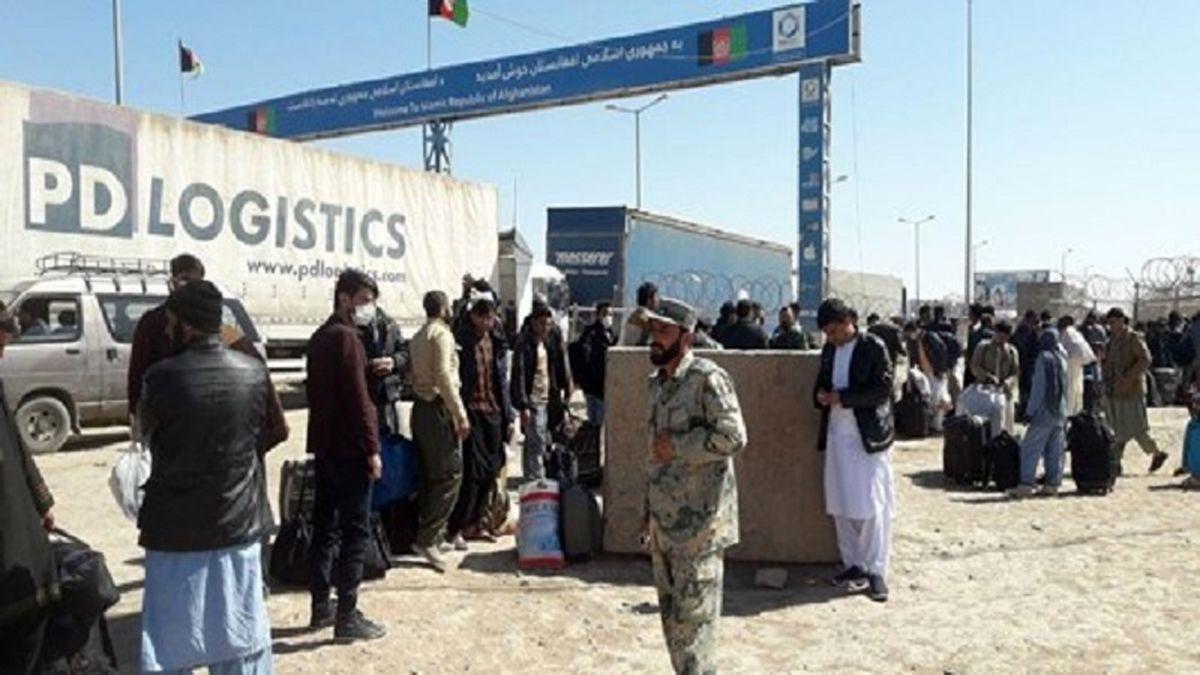 روند افزایشی بازگشت اتباع افغانسانی از طریق مرز دوغارون