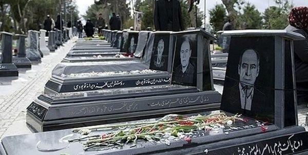 ورود کودکان و کهنسالان به آرامستان کرمانشاه ممنوع شد
