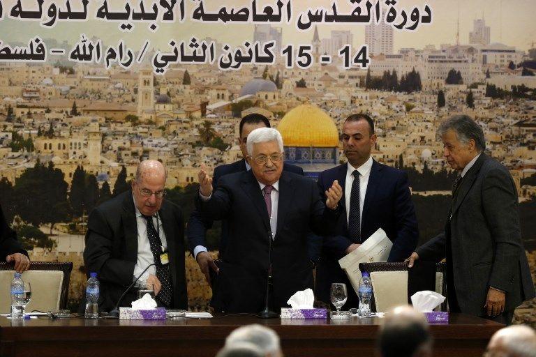 به رسمیت شناختن اسرائیل تعلیق شد