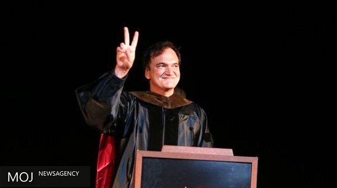 تارانتینو دکترای افتخاری از انستیتو فیلم آمریکا دریافت کرد