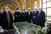 تجدید میثاق رییس قوه قضاییه با آرمان های امام راحل و شهیدان