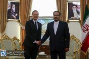 دیدار مشاور رییس جمهوری فرانسه با دبیر شورای عالی امنیت ملی
