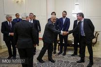 دیدار وزیر امور خارجه اسبق انگلیس با ظریف