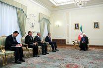 دیدار وزیر امور خارجه تاجیکستان با روحانی