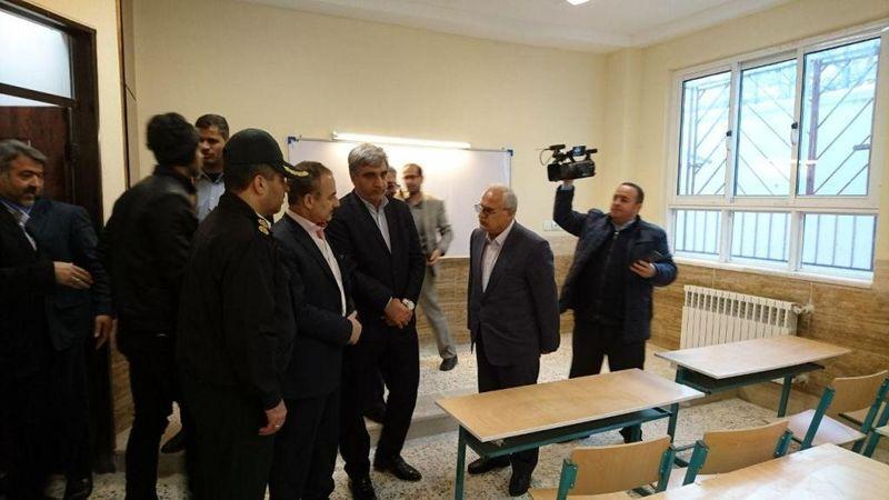 افتتاح مدرسه 6 کلاسهی دیلمان با حضور استاندار گیلان