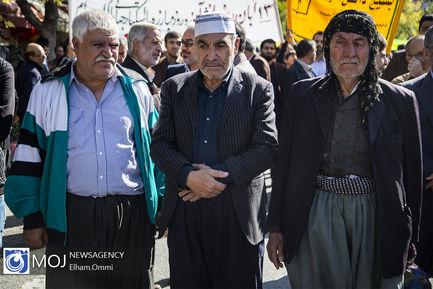 راهپیمایی روز ۱۳ آبان ۱۳۹۸ در کردستان