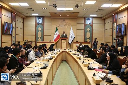 نشست خبری سخنگوی شورای نگهبان - ۱۲ بهمن ۱۳۹۸