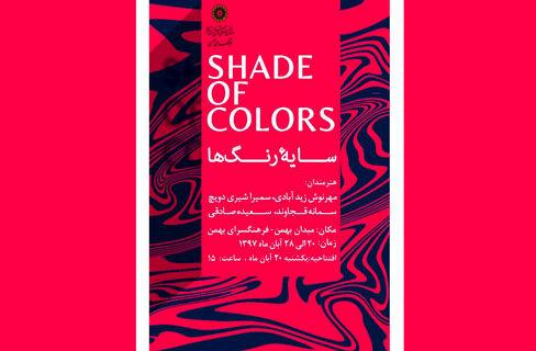 سایه رنگ ها را در نگارخانه بهمن ببینید