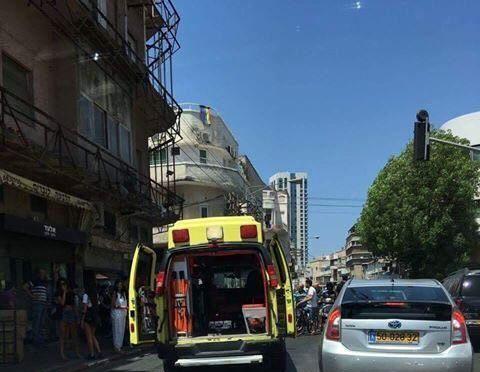 برخورد خودرو با عابران پیاده در تل آویو شش زخمی بر جا گذاشت