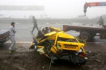 تصادف در محور همدان، 5 کشته برجای گذاشت