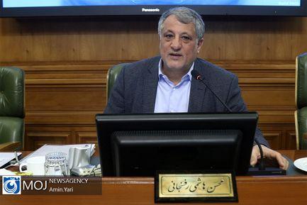 یکصد و هفتاد و نهمین جلسه شورای شهر تهران / محسن هاشمی