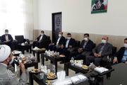 دیدار شهردار قم با رئیس کل دادگستری استان