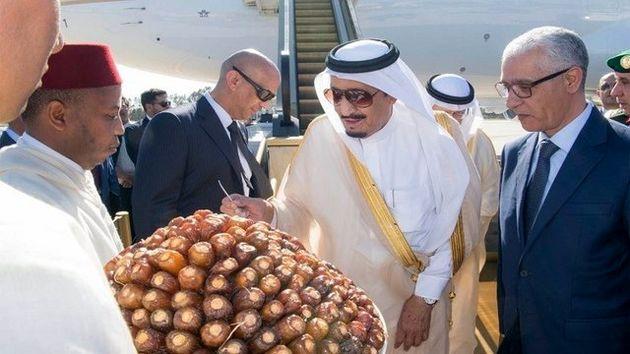 آغاز تعطیلات یک ماهه پادشاه عربستان در مغرب