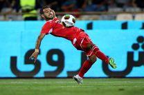 شکست پرسپولیس مقابل الدوحیل قطر در نیمه نخست