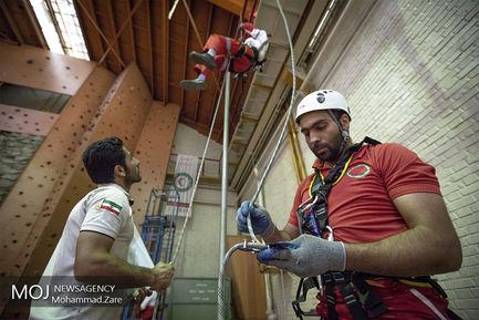 دوره توان افزایی تیم های واکنش سریع جمعیت هلال احمر ایران