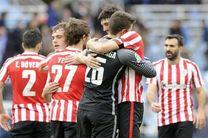 اتلتیک بیلبائو سهمیه لیگ اروپا را گرفت