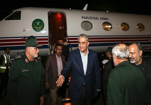فرمانده ارتش پاکستان به مشهد رفت