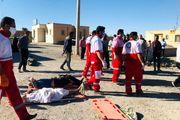 تصادف اتوبوس و تریلی در یزد با ۵ کشته و ۲۷ مصدوم