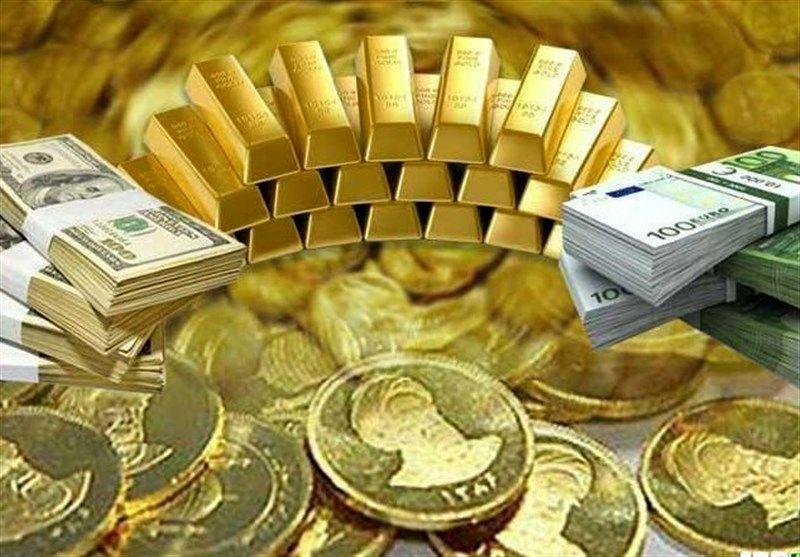 ارزانی قیمت سکه، طلا و ارز در بازار رشت