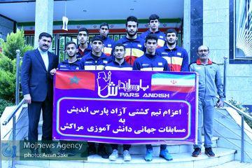 اعزام تیم کشتی آزاد مجتمع پارس اندیش خرمآباد به مسابقات جهانی مراکش