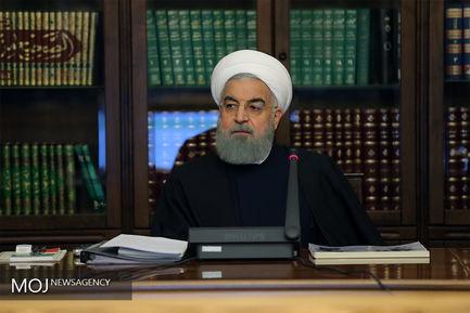 روحانی. جلسه شورای عالی سلامت