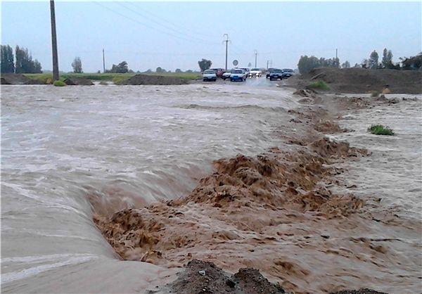 راه ارتباطی 12 روستای  بخش چلو اندیکا قطع شد