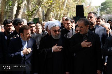 مراسم عزاداری حسینی در نهاد ریاست جمهوری