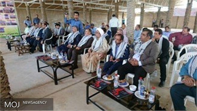 عملیات اجرایی توسعه طرح یادمان شهید آوینی در دشت آزادگان آغاز شد