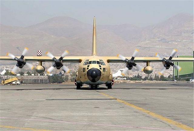 اورهال یک فروند هواپیمای F-27 در پایگاه نهاجا