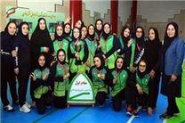 چهاردهمین دوره رقابتهای باشگاهی والیبال نشسته بانوان پایان یافت