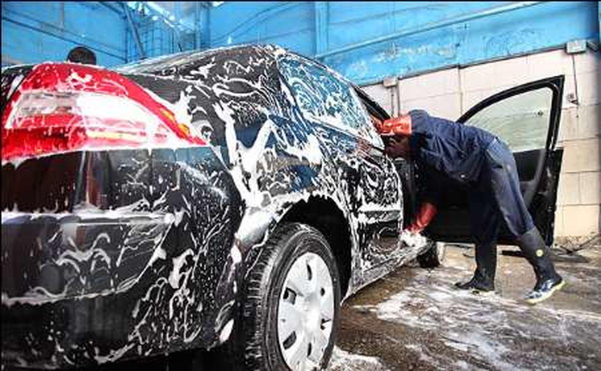 نرخ کارواش خودرو در تهران افزایش یافت